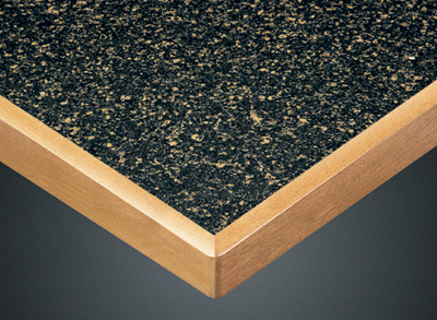 Wood Goods Industries Slimline Wood Edge With Stone And